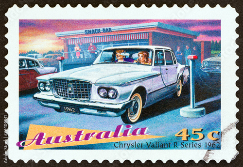Tela  Chrysler Valiant R Series sedan, 1962 (Australia 1997)