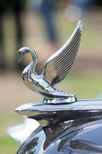 Swan Hood Ornament