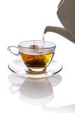 Herbata zalewana gorącą wodą