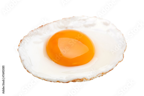 Tuinposter Gebakken Eieren Chicken fried egg