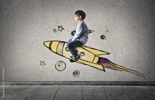 Spaceship flight