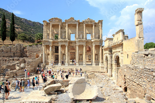 Photo Celsus library, Ephesus Turkey