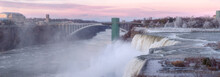 The Niagara Falls In November