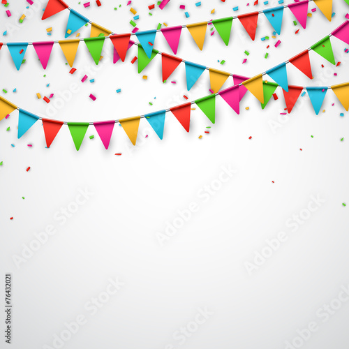 Party celebration background. Tableau sur Toile