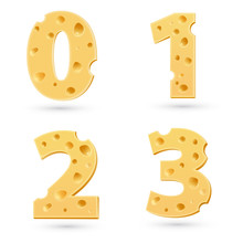 Set Of Cheese Numbers.