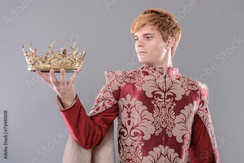 Fotografie, Obraz  Medieval King
