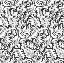 Seamless Fern Wallpaper Pattern Background