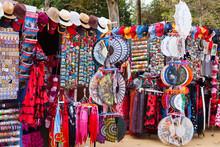 Sale Of  Souvenirs In Seville ...