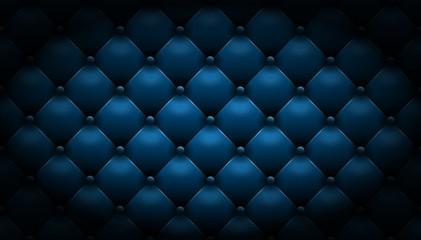 Hintergrund Leder Muster edel schwarz blau