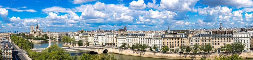 Fototapety, obrazy: Seine and Notre Dame de Paris