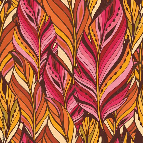 tekstura-z-rozowo-pomaranczowymi-piorami
