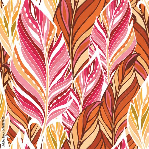 tekstura-z-piorkami-w-cieplych-kolorach