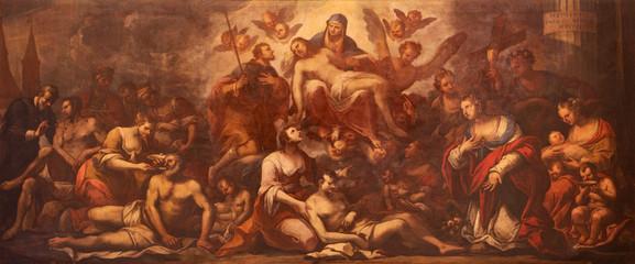 FototapetaPadua - Pieta and the pest in Padua - paint