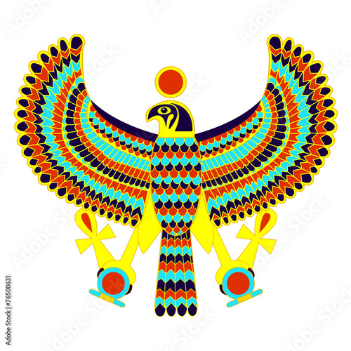 Ancient Egyptian Symbol Of Horus The Falcon God Buy This Stock