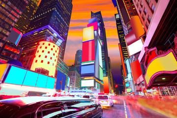 FototapetaTimes Square Manhattan New York deleted ads