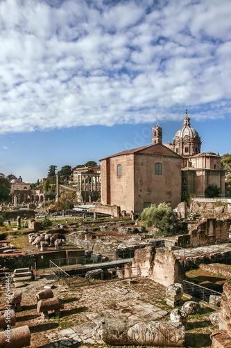 Foto op Aluminium Rome Roman Forum