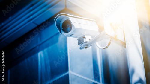 Fotografie, Obraz  surveillance camera