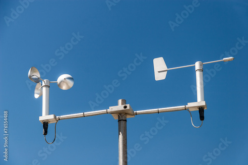 Weather station Canvas Print