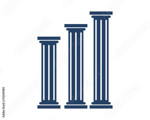 Law Three Pillars Tapéta, Fotótapéta