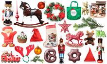 Christmas Set Of Isolated Decor