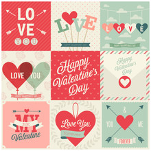 Valentine`s Day Set - Emblems ...