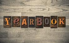 Yearbook Wooden Letterpress Co...