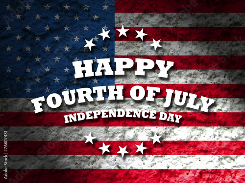 Fotografia  happy fourth of july - independence day