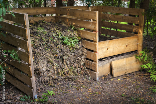Backyard compost bins - Backyard Compost Bins - Buy This Stock Photo And Explore Similar