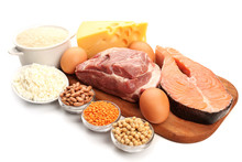 Food High In Protein Isolated ...