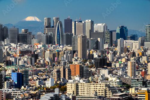 Obrazy Tokio  panorame-tokio-japonia