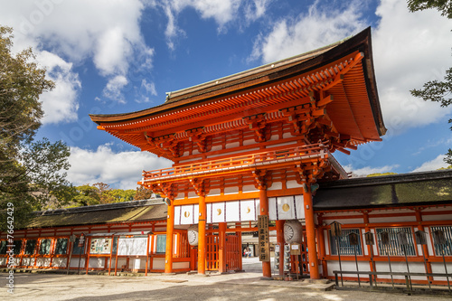 Photo sur Aluminium Kyoto 下鴨神社・楼門