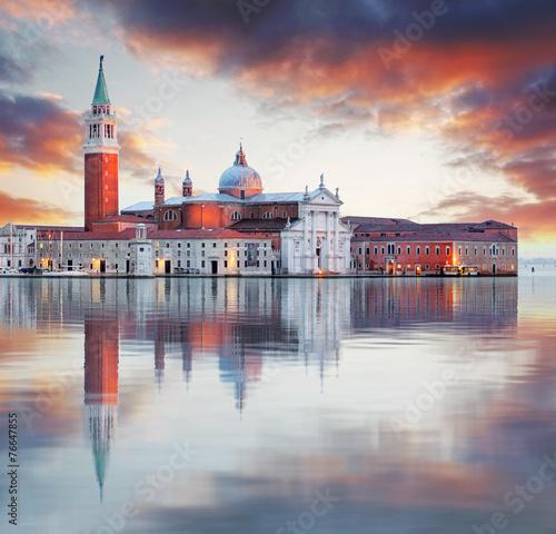 Poster Venise Venice - Church of San Giorgio Maggiore