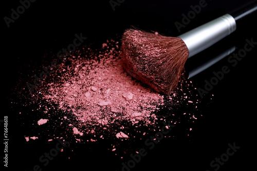 Fotografie, Obraz  Loose Make Up Foundation Close Up With Detail