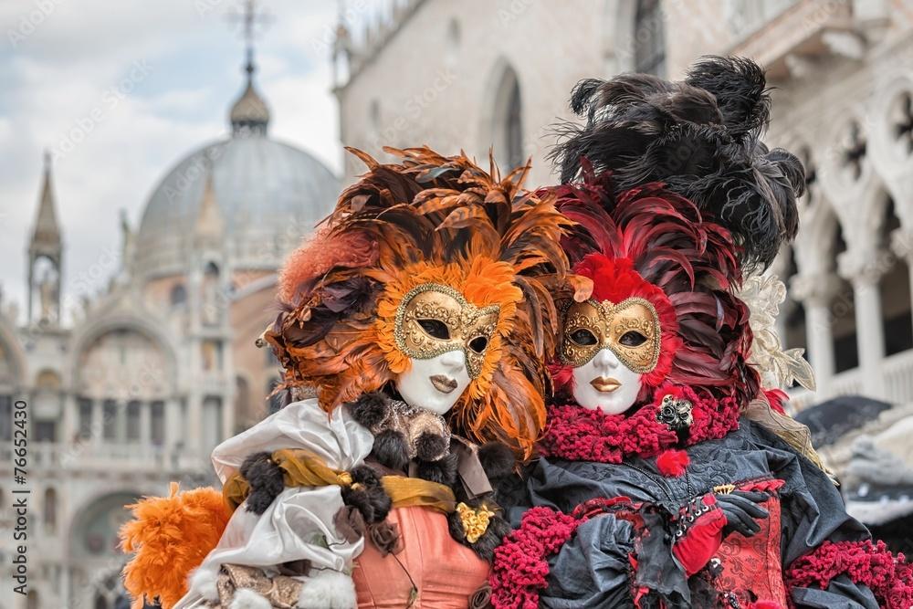 Fototapety, obrazy: Carneval mask in Venice - Venetian Costume