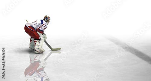 Plakat Hokej na lodzie