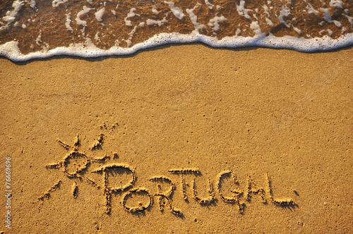 Photo  Portugal beach