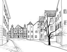 Pedestrian Street. Old City Co...
