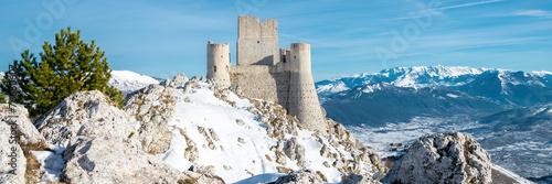 Rocca Calascio fortress, Abruzzo, Italy Wallpaper Mural
