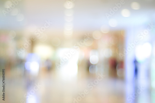 Photo  Blur store with bokeh background