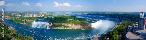 Photo sur Toile Canada Niagara Falls Panorama