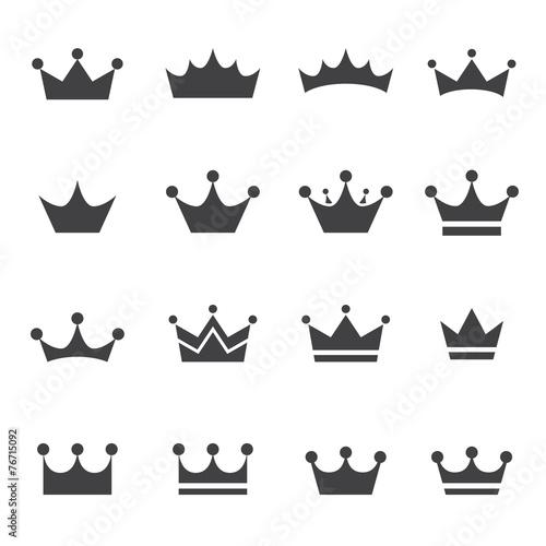 crown icon Fototapete