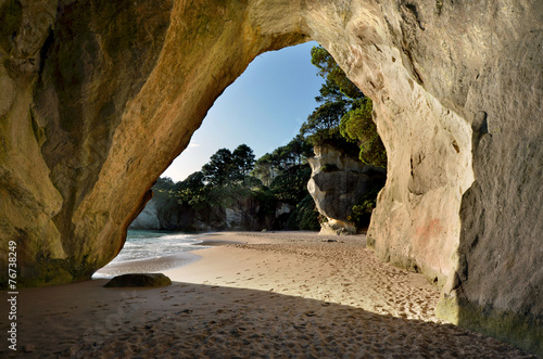 Foto op Plexiglas Cathedral Cove Te Whanganui-A-Hei (Cathedral Cove) Marine Reserve