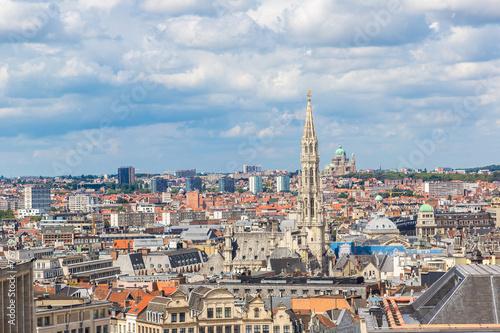 Garden Poster Vienna Cityscape of Brussels