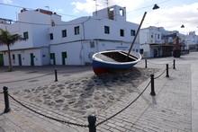 Old Town Street Art Corralejo Fuerteventura Canary Islands Spain