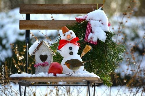 Garten Im Winter Kaufen Sie Dieses Foto Und Finden Sie Ahnliche