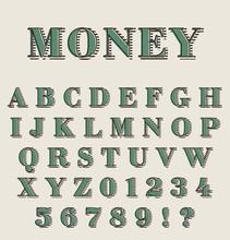Graphic Retro Alphabet