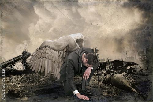 Valokuvatapetti the apocalypse