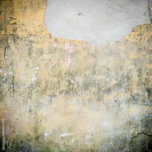 Keuken foto achterwand Retro Cracked paint on a old wall.