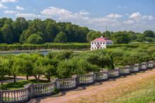 Marly Palace In Peterhof Garden
