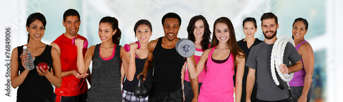 Fotografie, Obraz  Fitness Class